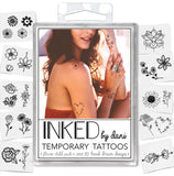 INKED by dani Temporary Tattoos - Flower Child Pack