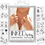 INKED by dani Temporary Tattoos - Lil' Tats Pack