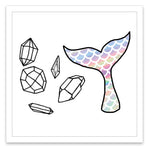 INKED by dani Temporary Tattoos - Mermaid Magic