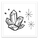 INKED by dani Temporary Tattoos - Crystal Power
