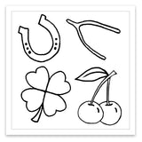 INKED by dani Temporary Tattoos - Lucky Charms