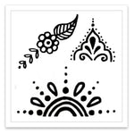 INKED by dani Temporary Tattoos - Swirly Set