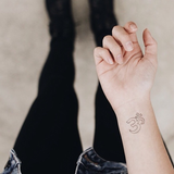 INKED by dani Temporary Tattoos - Ohm
