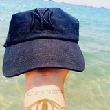 INKED by dani Temporary Tattoos - NY / LA Coordinates