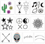 INKED by dani Temporary Tattoos - Festival Pack