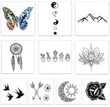 INKED by dani Temporary Tattoos - Free Spirit Pack