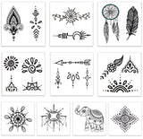 INKED by dani Temporary Tattoos - Henna-Inspired Pack