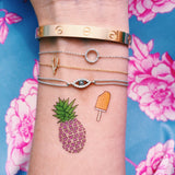 INKED by dani Temporary Tattoos - Pineapple