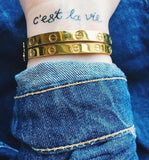 INKED by dani Temporary Tattoos - C'est La Vie