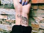 INKED by dani Temporary Tattoos - Happy Elephant