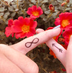 INKED by dani Temporary Tattoos - Finger Tats Pack