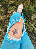 INKED by dani Temporary Tattoos - Ornate Flower