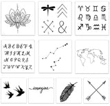 INKED by dani Temporary Tattoos - Inspired Pack