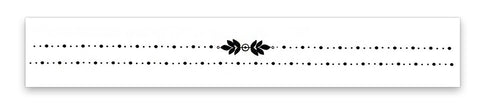 INKED by dani Temporary Tattoos - Leaflet Choker