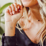 INKED by dani Temporary Tattoos - Barely There Pack