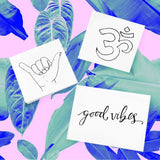 INKED by dani Temporary Tattoos - Wanderlust Pack