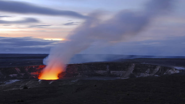 The new glow at Hawaii Volcanoes National Park