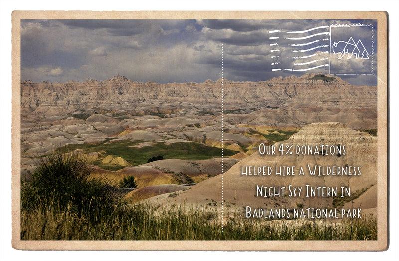 Helped Hire a Wilderness Night Sky Intern in Badlands