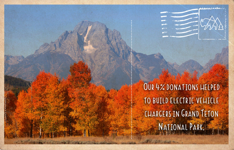 Building electric vehicle chargers in Grand Teton National Park