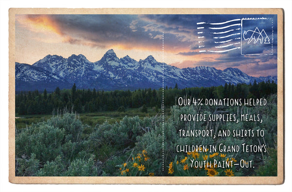 Grand Teton's Youth Paint-Out