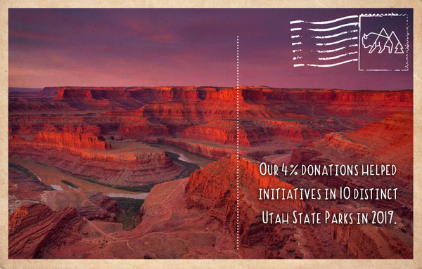 Helping initiatives in 10 distinct Utah State Parks in 2019