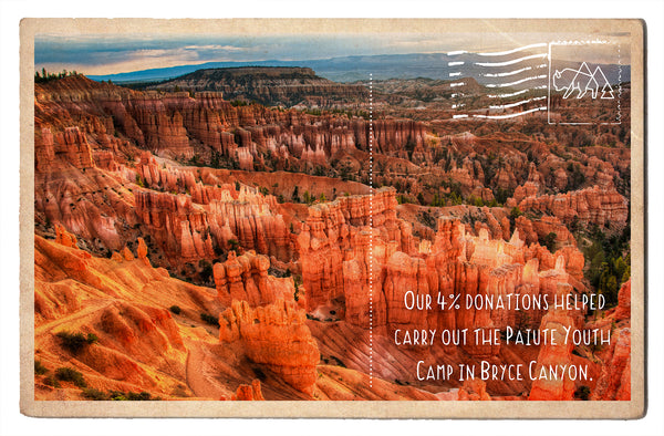 The Paiute Youth Camp in Bryce Canyon
