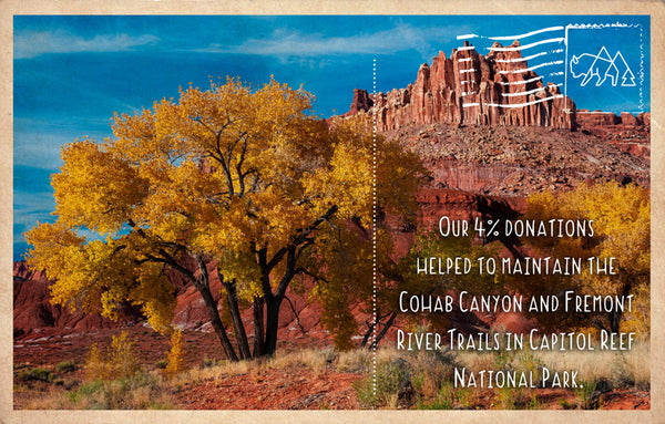 Trail maintenance in Capitol Reef National Park