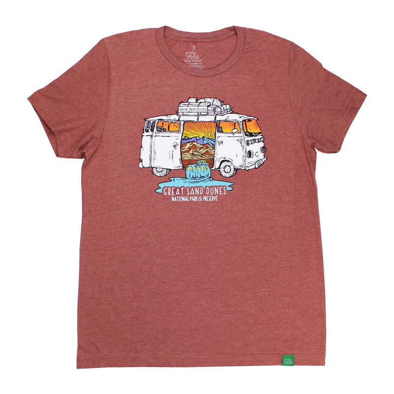 Great Sand Dunes Road Trip T-Shirt