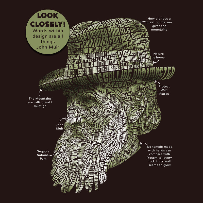 Life of John Muir T-Shirt
