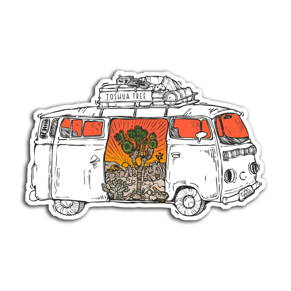 Joshua Tree Road Trip Sticker