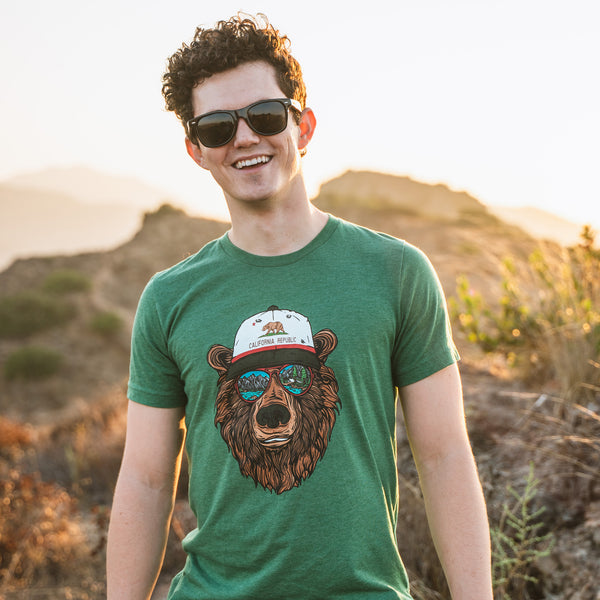 Miami Vice California Bear T-Shirt