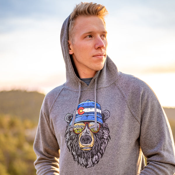 Miami Vice Colorado Bear Hoodie Sweatshirt