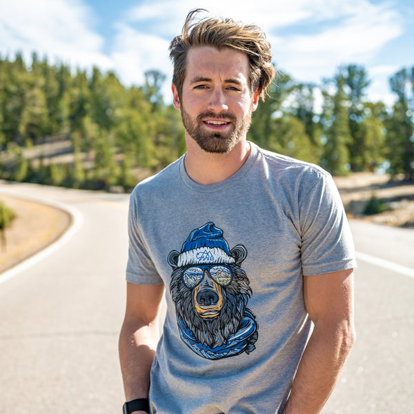 Miami Vice Winter Bear T-Shirt