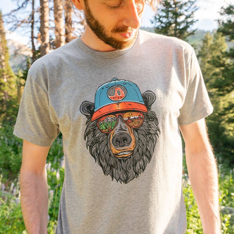 Miami Vice Utah Bear T-Shirt