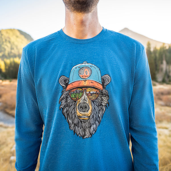 Miami Vice Utah Bear LS T-Shirt