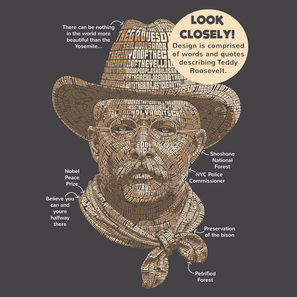 Teddy Roosevelt Tribute T-Shirt