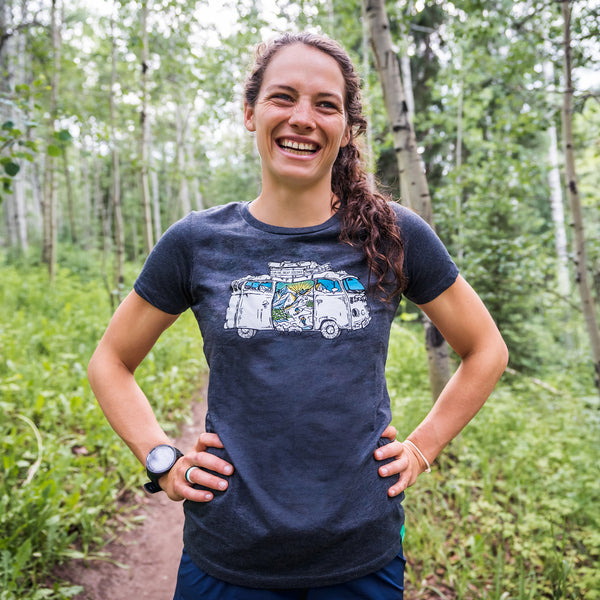 Women's Ski Road Trip Athletic T-Shirt