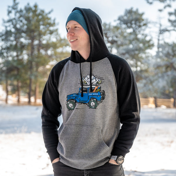 Stay Wild Winter Hoodie Sweatshirt