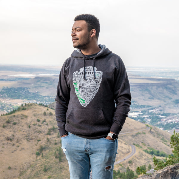 National Park Arrowhead Hoodie Sweatshirt