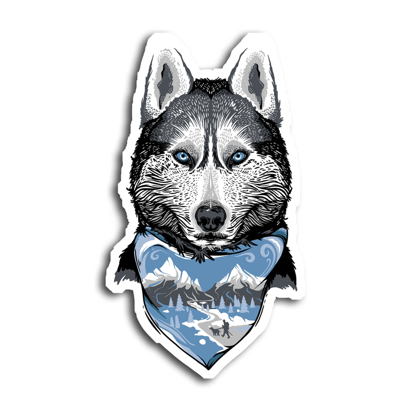 Denali The Mountain Dog Sticker
