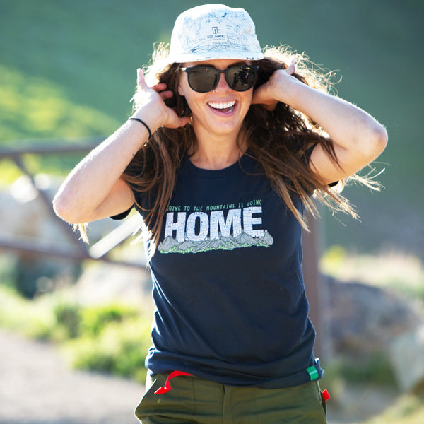 Women's Going To The Mountains Is Going Home T-Shirt