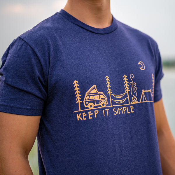 Keep It Simple Motto T-Shirt