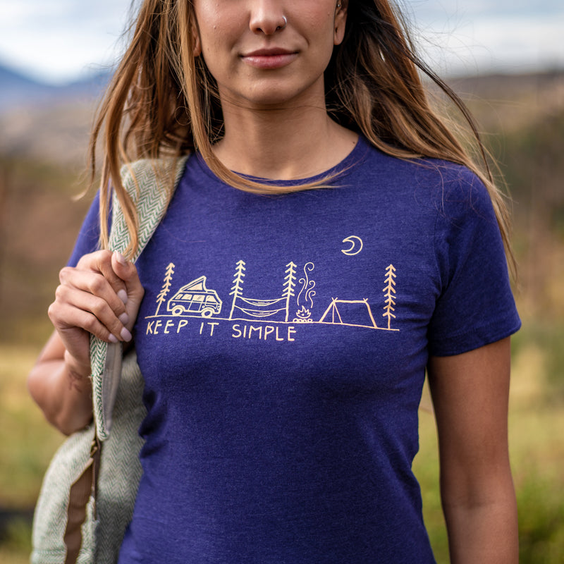Women's Keep It Simple Athletic T-Shirt