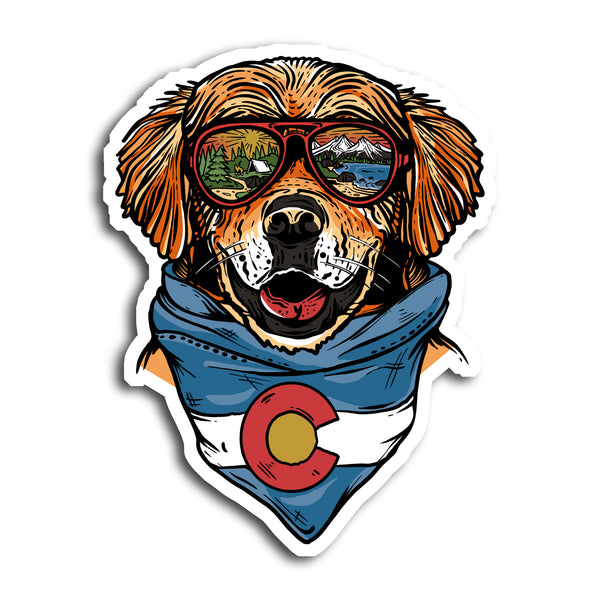 Maximus the Colorado Mountain Dog Sticker