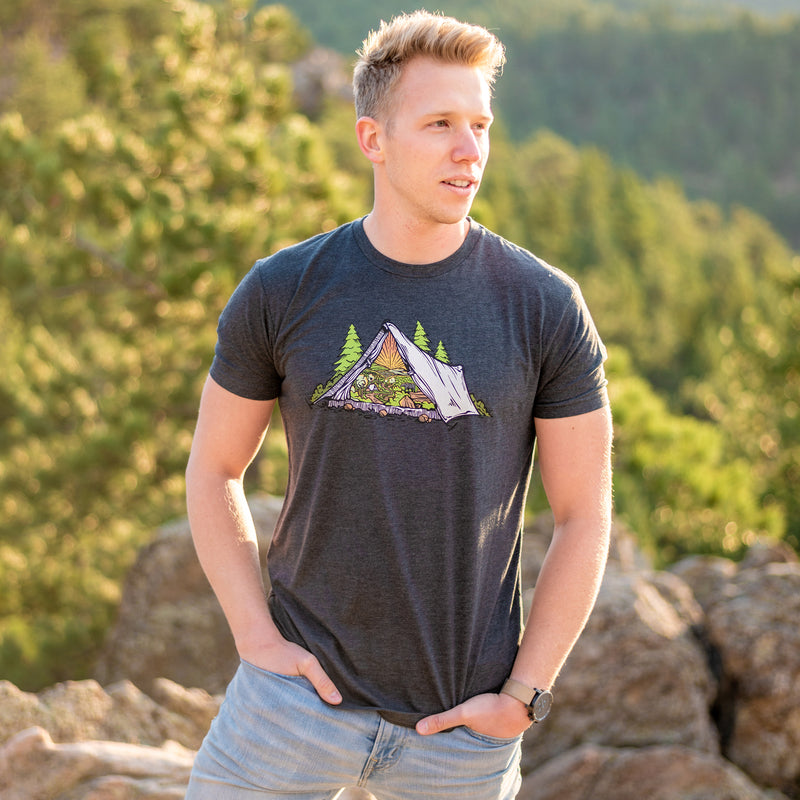 Morning Light Tent T-Shirt