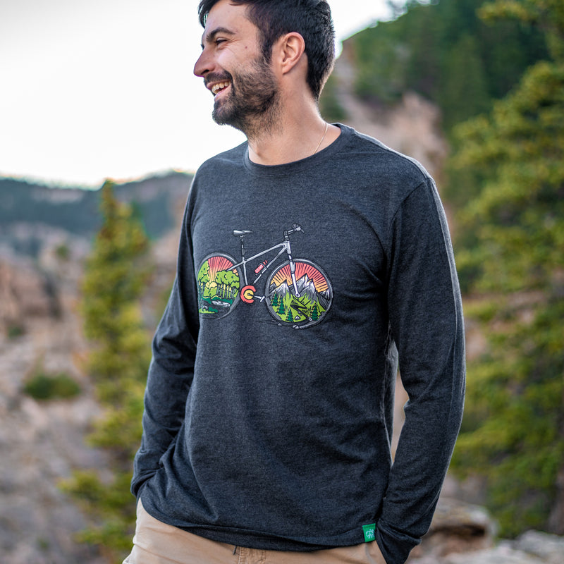 Mountain Ride Colorado LS T-Shirt