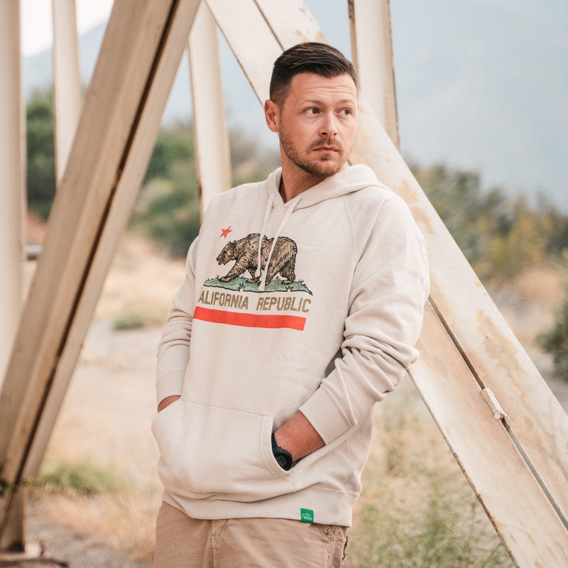 Republic of California Hoodie Sweatshirt