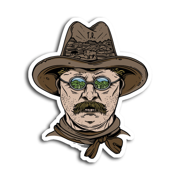 Teddy Bro-Sevelt Sticker