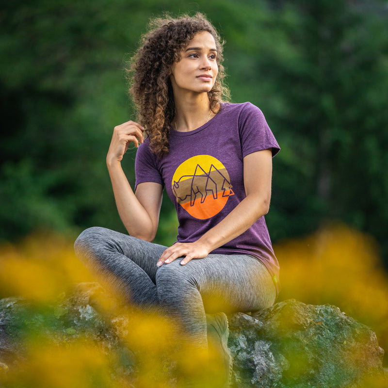 Women's Wild Tribute Sol Athletic T-Shirt
