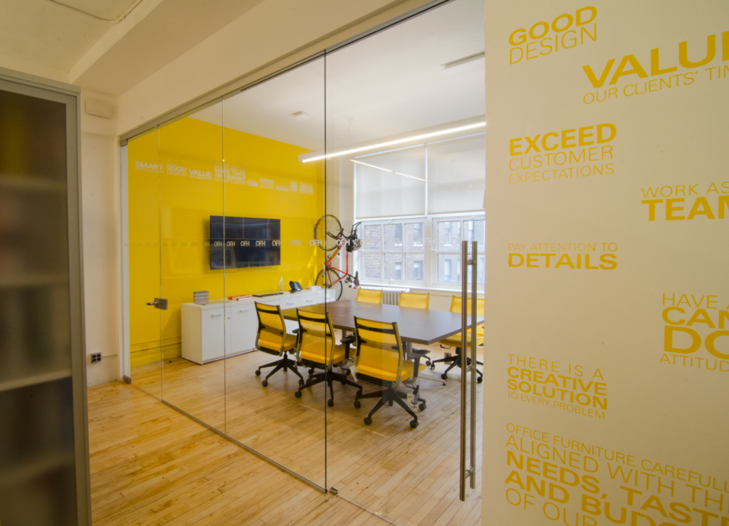 Brighten Up Your Office With Ofh Architectural Glass Walls